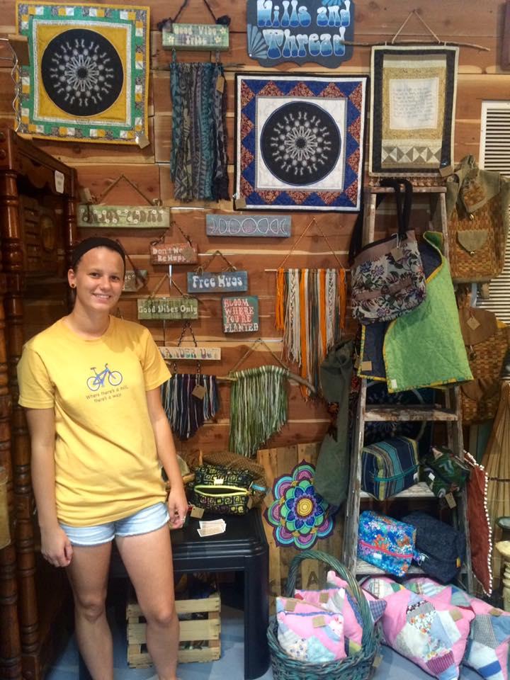 Interview with Meghan Widger, textile and fiber artist
